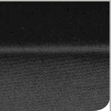 "Marko 53695496TM014 DuraLast 54"" x 96"" Black Oxford Weave Tablecloth"