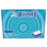 Bagcraft 12 x 10-3/4 White Interfolded Heavy Dry Wax Deli Paper