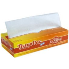 Dixie T12 Tissue-Pac® White Bakery Wax Tissue Sheet - 6 / CS