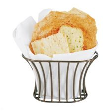 Clipper Mill Tuscan Style Wire Bread Serving Basket
