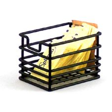 Clipper Mill 4-31862 Black Powder Coated Wire Sugar Caddy