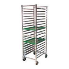 SPG International 4H1141 Kel Max Knockdown 12-Tray Bun Pan Rack