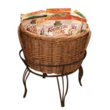 Mobile Merchandisers Floor Basket Display