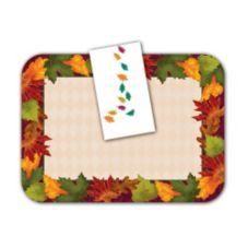 "Dinex® Autumn Leaves 15"" x 17"" Napkin Pack"