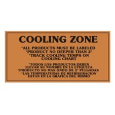 "Skyler Signs ""Cooling Zone"" Sign"