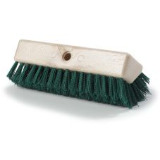 "Carlisle® 4042309 Sparta 10"" Green Hi-Lo Floor Scrub Brush"