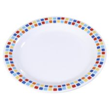 Carlisle® 43003917 Durus® Spanish Tile Dinner Plate - 12 / CS