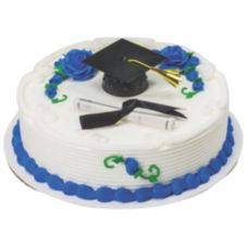 DecoPac 13066 Black Graduation Cap With Tassel DecoSet - 6 / BX