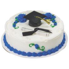 DecoPac 13066 Black Graduation Cap With Tassel DecoSet - 6 / BX