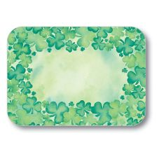 Dinex DXHS052M001 St Patrick's Day Medium-Size Tray Cover - 100 / PK