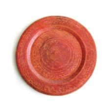 "Orion Trading / Design Mexican Copper Rustic 13"" Charger Plate"