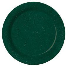 "G.E.T.® BF-010-KG Kentucky Green 10"" Melamine Plate - 12 / CS"