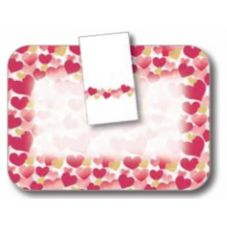 "Dinex® Valentines Day 14"" x 18"" Tray Cover"