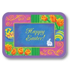 "Dinex® Happy Easter 14"" x 18"" Tray Cover"