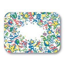"Dinex® Celebration 14"" x 18"" Tray Cover"
