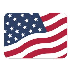"Dinex® Stars & Stripes Small Pack 14 x 18"" Tray Cover"