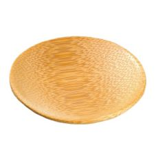 "PackNWood 209BBPING 2-2/5"" Round Bamboo Dish - 144 / CS"