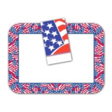 "Dinex® Stars & Stripes 14"" x 18"" Tray Covers"