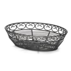 TableCraft BK27409 Mediterranean Collection™ Black Metal Basket