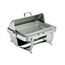 Browne Octave S/S Full-Size Rectangular Chafer w/ Roll Top Lid