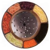 Robot Coupe® 28163 5 mm Coarse Grating Disc for Food Processor