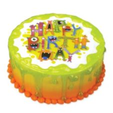Lucks™ Edible Image® Monster Birthday
