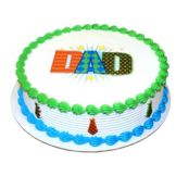 Lucks™ 34027 Edible Image® Dapper Dad - 12 / BX