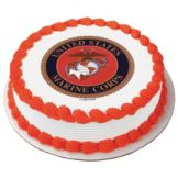 Lucks™ 35097 Edible Image® US Marines Logo - 12 / BX