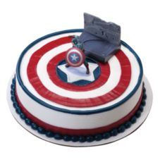 DecoPac 33179 Captain America Spin & Fight DecoSet - 6 / BX