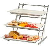 Buffet Euro 3885 Modu-Grande Rack System With (3) Platters