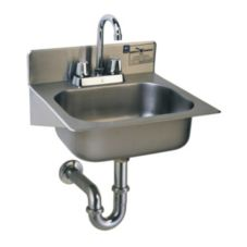 Eagle® HSAE-10-FA Wall Mount Hand Sink with Gooseneck Faucet