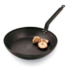 """Paderno A4171618 Black Steel 7-1/8"""" x 1-1/2"""" Fry Pan"""