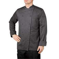 Chefwear® Smoke Traditional Organic Five-Star Large Chef Jacket