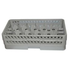 Vollrath HR1D1D Traex® Beige Half-Size 17-Compartment Glass Rack