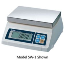 CAS Corporation SW-5 Digital Portion 5 x 0.002 LB Scale with Platform