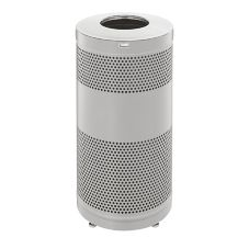 Rubbermaid® FGS3SSTSSPL 25 Gal. Drop Top Receptacle With Levelers
