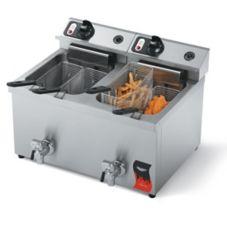 Vollrath® 40710 Cayenne® 30 Lb. Medium-Duty Electric Fryer