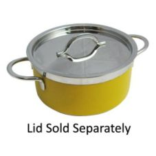Bon Chef 60301NC Yellow French Classic Country 3.3 Qt Stock Pot
