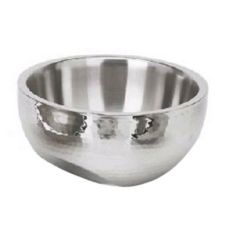 Eastern Tabletop 7210 Hammered S/S Dual Angled 115 Oz Insulated Bowl