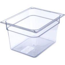 Carlisle® 10223B07 Top Notch® Clear Half Size Food Pan