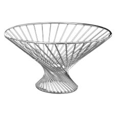 "American Metalcraft FR12 S/S Wire 12 x 6"" Whirly Basket"