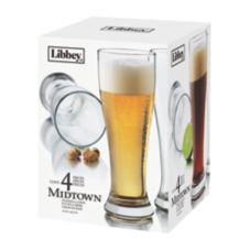 Libbey® 1604S4 Midtown 16 Oz. Pilsner Glass - 4 / CS