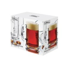 Libbey® 89326 Brewmaster 15 Oz. Glass Mug - 2 / CS