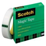 Staples® Advantage 130609 Clear Tape Roll Roll