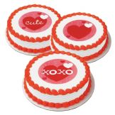 Lucks™ 46412 Edible Image® XOXO Variety Pack - 12 / BX