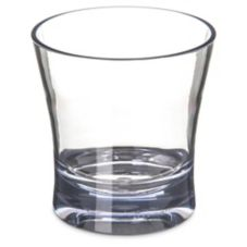 Carlisle® 561207 Alibi 12 Oz. Double Old Fashioned Glass - 24 / CS