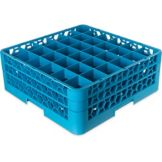 Carlisle® RG36-214 OptiClean™ 36-Compartment Glass Rack