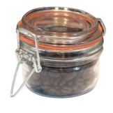 Anchor Hocking 98908 Clamp-Top 4.25 oz Mini-Heremes Jar - 12 / CS