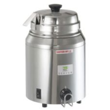Server Single Vessel Warmer w/ Lift-off Lid + Ladle, FS 82510 (EURO)