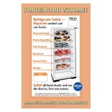 "DayMark 112270 17"" x 11"" Proper Food Storage Poster"